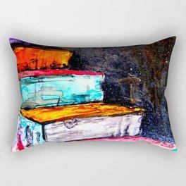 painted stairs Rectangular Pillow