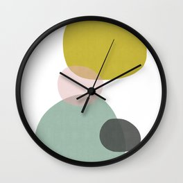 Abstract Art X Wall Clock