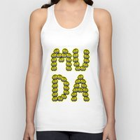 jjba Tank Tops featuring MUDA by Lethal Soul