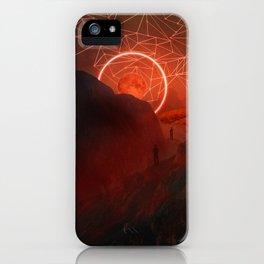 2077 landscape II iPhone Case