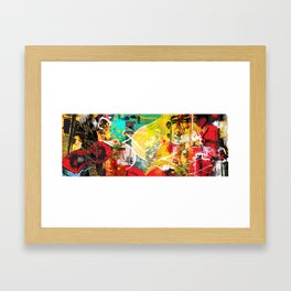 Exquisite Corpse: Round 3 Framed Art Print