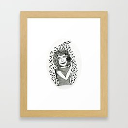 Oona Framed Art Print