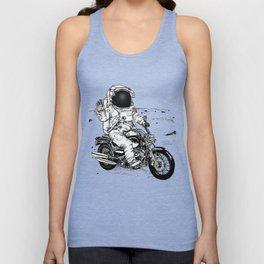 Moon Biker Unisex Tank Top