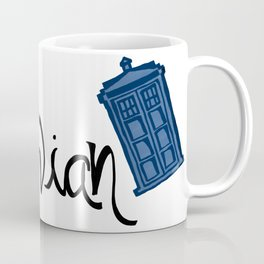Whovian - Dr. Who Coffee Mug