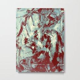 El hombre y sus Pensamientos Metal Print