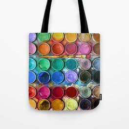 Pallet Abstract Art Tote Bag