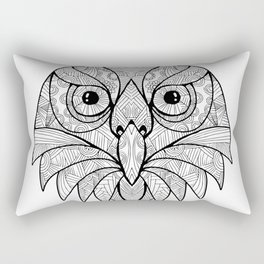 Australian Barking Owl Mandala Rectangular Pillow