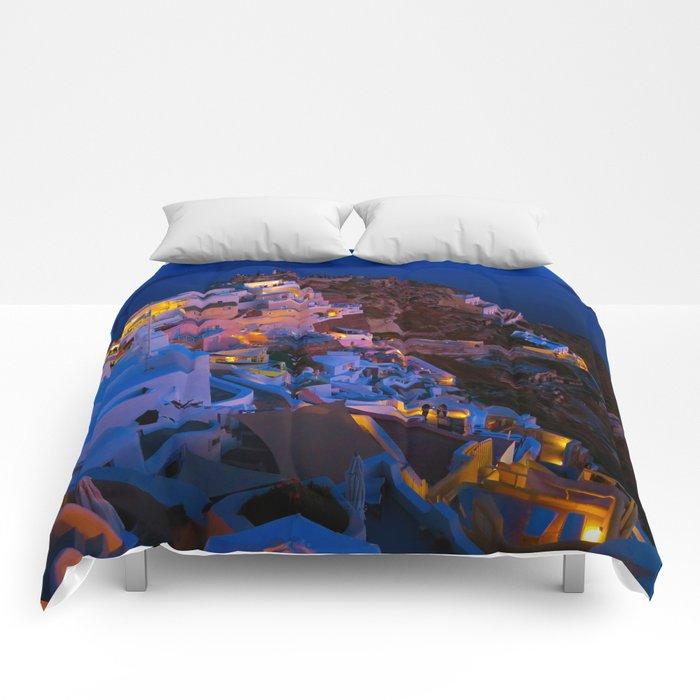 Santorini. Comforters