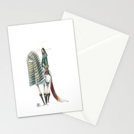 Numero 10 -Cosi che cavalcano Cose - Things that ride Things- SERIE ARGENTO - SILVER SERIES Stationery Cards