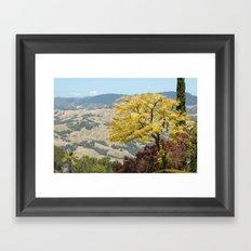 Tree-View Framed Art Print