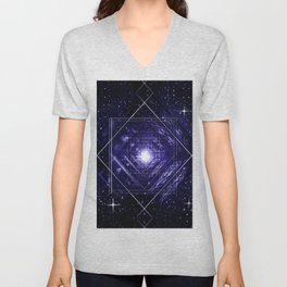 A breath infinity. Unisex V-Neck
