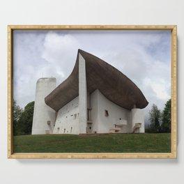 Chapelle Notre-Dame-du-Haut | Le Corbusier Serving Tray