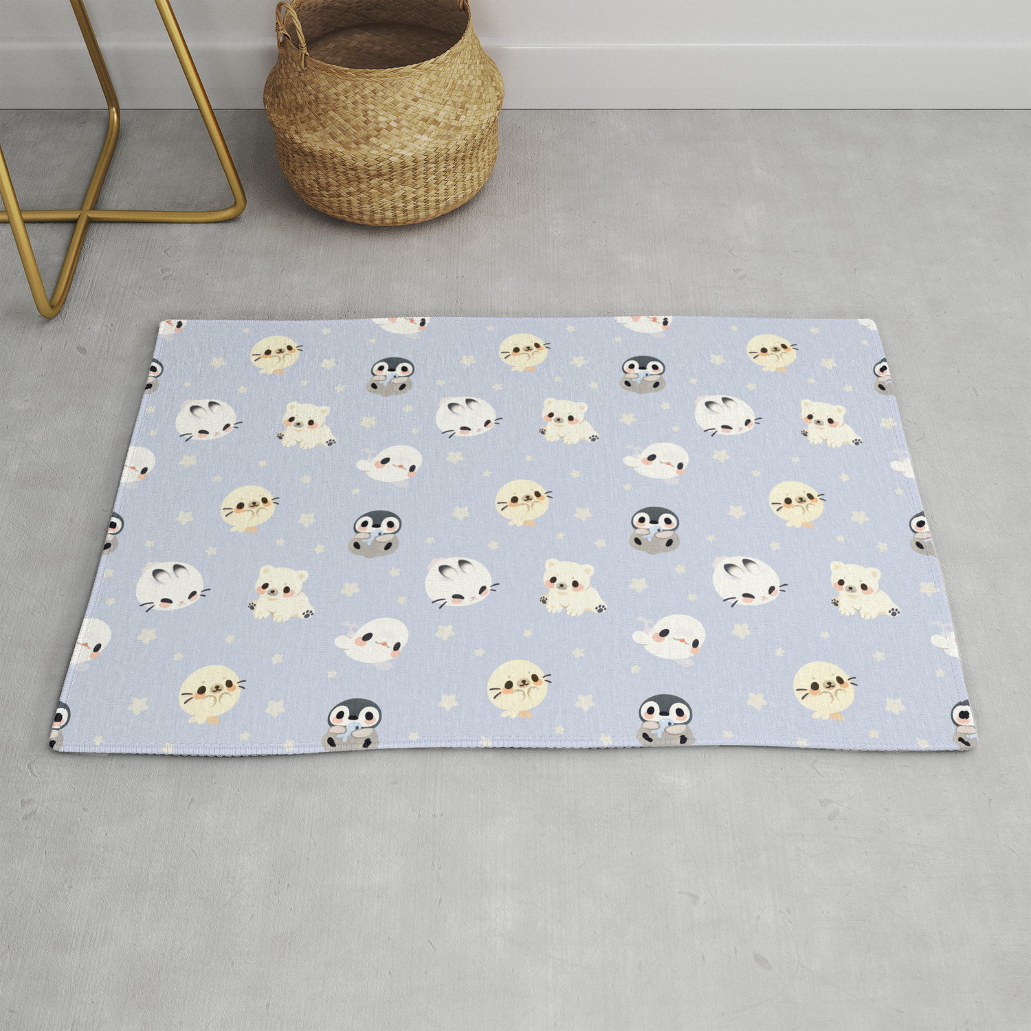 Arctic Babies Rug By Afternoonfika