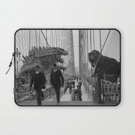 Old Time Godzilla vs. King Kong Laptop Sleeve