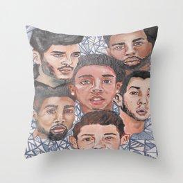 Men Throw Pillow