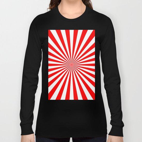 Starburst (Red/White) Long Sleeve T-shirt