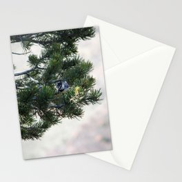 Solitary bird Stationery Cards