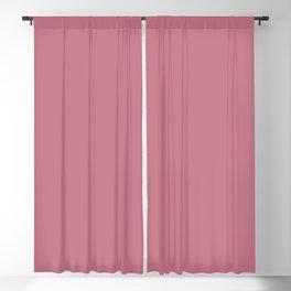 Afterglow ~ Hazy Raspberry Blackout Curtain