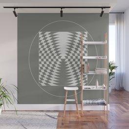 extraterrestrial crop circle, sacred geometry Wall Mural