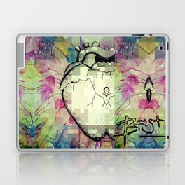 PixELATED Heart Laptop & iPad Skin