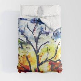 Chakra Tree of Life Comforters