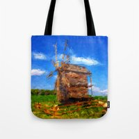 ukraine Tote Bags featuring My Ukraine ^_^ by Julia Kovtunyak