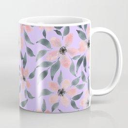 Watercolor floral patter n.2 Coffee Mug