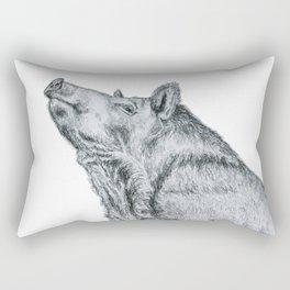 First, take a long jog, then reward yourself by eating like a hog! Rectangular Pillow