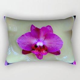 Mutant Ninja Moth Orchid Rectangular Pillow