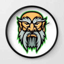 Cronus Greek God Mascot Wall Clock