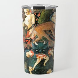 The demon that eats people Travel Mug