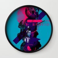 fullmetal alchemist Wall Clocks featuring Alchemist Geometry by Largetosti
