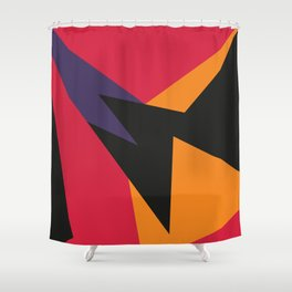 VII Raptors Shower Curtain