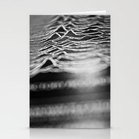 joy division Stationery Cards featuring joy division by Sara Eshak