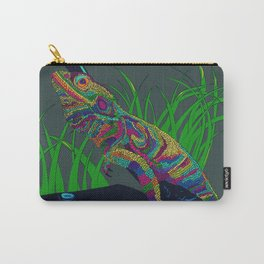 Colorful Lizard Carry-All Pouch