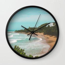 Playa Domes Wall Clock
