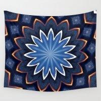buddha Wall Tapestries featuring Buddha by Julie Maxwell