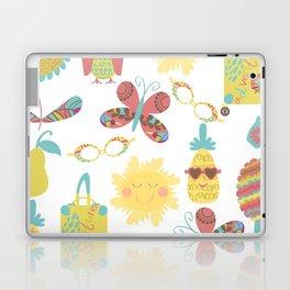 Travel pattern 2u Laptop & iPad Skin