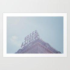 Hotel Astoria Art Print