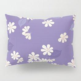 Purple Night. Cherry Blossom. Pillow Sham