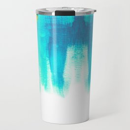 On the Plus Side (blue)  Travel Mug