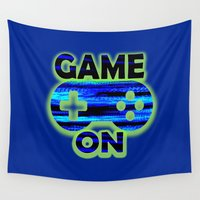 video game Wall Tapestries featuring Game On by UMe Images