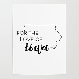For the Love of Iowa - pt 2 Poster
