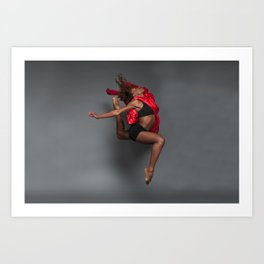 Leaps and Bounds Art Print