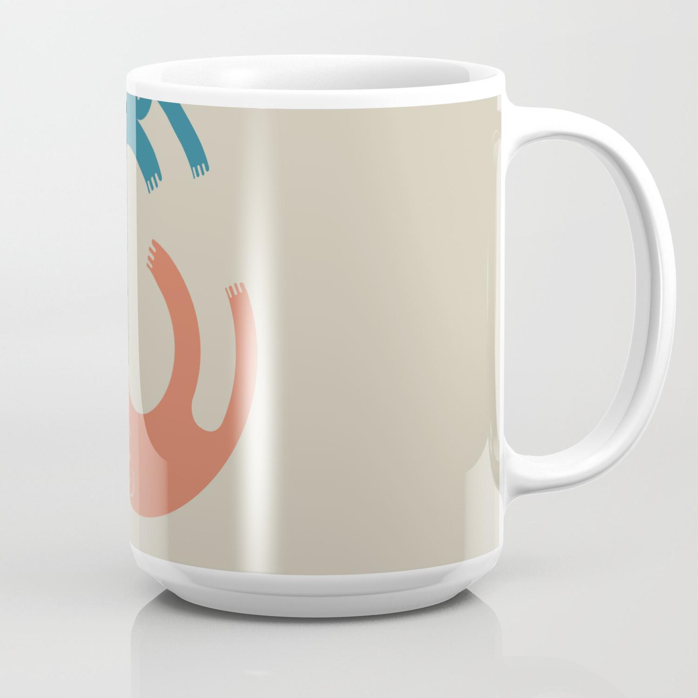 Me And Me Designer Coffee Mug By Ricardogime Society6