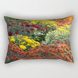 Chrysthemum Flowers Variety Rectangular Pillow