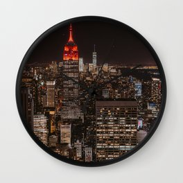 New York NY Wall Clock