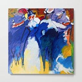 Wassily Kandinsky Impression VI Metal Print