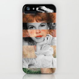Renoir's Jeanne Samary in a low necked dress & Judy Garland iPhone Case