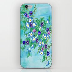 Watercolor Spring Bouquet  iPhone Skin